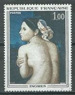 France YT N°1530 Ingres Oblitéré ° - France