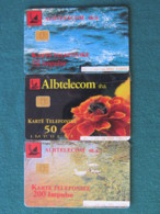 Albania - 3 Phone Card - Albtelecom - Albanië
