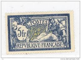 France  :  Yv  123a  *   Bleu Et Olive       ,      N2 - 1900-27 Merson