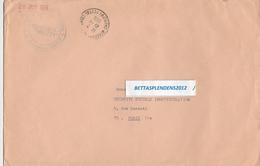 LSC 1966 - Cachet UTA Et Cachet Aéroport Du Bourget Entrepot Postal - Marcophilie (Lettres)