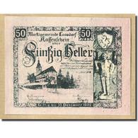 Billet, Autriche, Loosdorf, 50 Heller, Paysage, 1920, 1920-12-31, SPL, Mehl:FS - Autriche