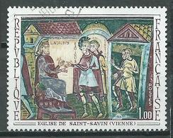 France YT N°1588 Eglise De Saint-Savin Oblitéré ° - France