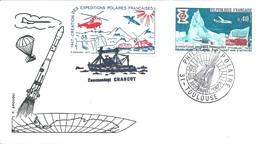 Cachet Commémoratif Exposition De Philatélie Polaire - Toulouse - 22-23 Octobre 1977 - Événements & Commémorations