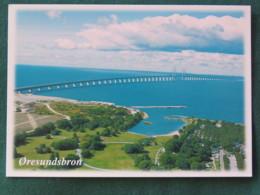 Sweden Postcard Oresundsbron Bridge - Suède