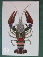 "Latvia 2018 Postcard ""lobster"" To Nicaragua - Franking Cancel - Lettonie"