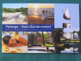 "Lithuania Postcard ""Palanga - Oslo"" Beach Bird Dunes - Lituanie"