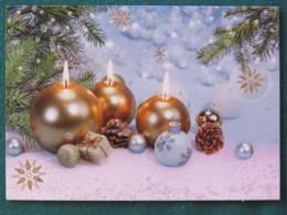 "Lithuania 2017 Postcard ""Christmas"" To Nicaragua Inside Letter - Lituanie"
