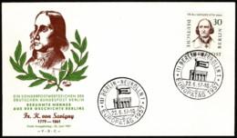 BER SC #9N154 1957 Friedrich Von Savigny FDC 06-22-1957 - FDC: Covers