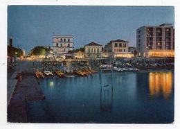 Italie -- RIMINI - CATTOLICA --Crépuscule Sur Le Port  (belle Publicité  CAMPARI ) - Rimini