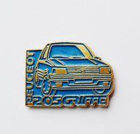 Pin's Voiture Peugeot 205 Griffe  - 42/CT - Autres