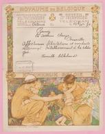 BELGIE TELEGRAMME BELGIQUE- N°4 Déposé OSTENDE. - ADMINISTRATION Des Télégraphes - Beheer Van Telegrafen - Stamped Stationery