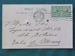 United Kingdom 1930 Postcard To Isle Of Man - King - Royaume-Uni