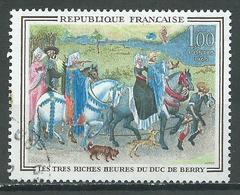 France YT N°1457 Les Très Riches Heures Du Duc De Berry Oblitéré ° - France