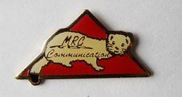 Pin's Hermine Communication MRC - 42/CT - Animaux