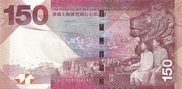 HONG KONG P. 217a 150 D 2015 UNC - Hong Kong