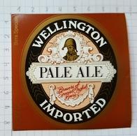ETIQUETTE BRASSERIE UNION JUMET WELLINGTON PALE ALE  IMPORTED ITALIE - Beer