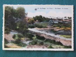 """Belgium 1937 (?) Postcard """"La Panne Beach"""" - King Leopold III - Belgium"""