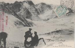 """T. à D. De Briançon (Hautes-Alpes) Avec Mention Tampon Rouge / CPA  """" Colombier Militaire De Briançon"""" (recto-verso). - Marcophilie (Lettres)"""