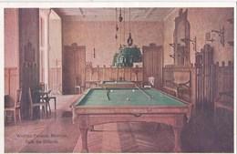 CPA :  Billard  Menton (06)   Hôtel Winter Palace  Salle Des Billards    Couleur     Ed  Robaudy - Cartes Postales