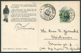1924 Norway FRAM  Polar Ship Postcard. Polhavet - Norway