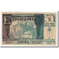 Billet, Autriche, Enzesfeld, 50 Heller, Paysage, 1920, 1920-06-05, SPL, Mehl:FS - Autriche