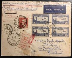 FRANCE AVIATION 1ère Liaison Aérienne France-Antilles Par Lt De Vaisseau Paris PA N° 6 & Poste N°306 Superbe - Poste Aérienne