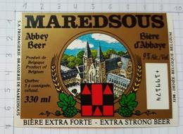 ETIQUETTE BROUWERIJ MOORTGAT BREENDONK MAREDSOUS - 4 - Beer