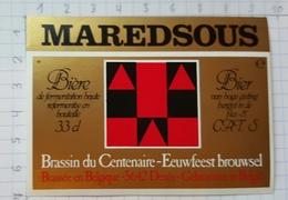 ETIQUETTE BROUWERIJ MOORTGAT BREENDONK MAREDSOUS - 6 - Beer