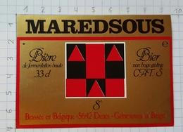 ETIQUETTE BROUWERIJ MOORTGAT BREENDONK MAREDSOUS - 7 - Beer