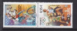 Timbres N° 4222** à 4225** Jeux Olympiques à Pékin - Unused Stamps
