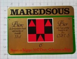 ETIQUETTE BROUWERIJ MOORTGAT BREENDONK MAREDSOUS - 14 - Beer