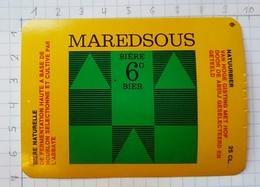 ETIQUETTE BROUWERIJ MOORTGAT BREENDONK MAREDSOUS - 18 - Beer