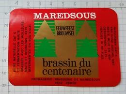 ETIQUETTE BROUWERIJ MOORTGAT BREENDONK MAREDSOUS - 22 - Beer