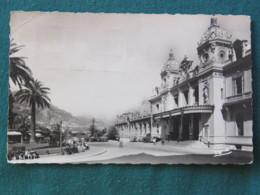 "Monaco 1953 Postcard ""Monte Carlo - Casino"" To England - Crown Cancel - Monaco"