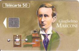 FRANCE - Giuglielmo Marconi(50 Units), Chip SO5, 03/94, Used - France