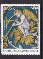 Timbre Autoadhésif N° 267** Ange Avec Trompette - France