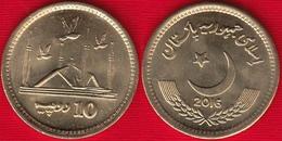 Pakistan 10 Rupees 2016 Km#77 UNC - Pakistan