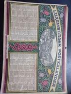 Luxemburger- Post- Kalender 1929 Larochette / A4 - Calendars