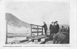 CPA La Guerre Russo-Japonaise - Le Prince Khilkoff Sur Le Lac Baïkal Examinant Les Travaux Du Chemin De Fer - Guerres - Autres