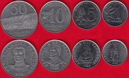 Paraguay Set Of 4 Coins: 1 - 50 Guaranies 1986-1988 - Paraguay