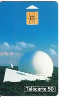FRANCE - Earth Station, Musee Des Telecommunications De Pleumeur-Bodou(50 Units), Chip SO3, 08/95, Used - France