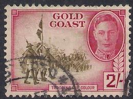 Gold Coast 1948 KGV1 2/-d Green & Magenta SG 144 ( K1133 ) - Gold Coast (...-1957)