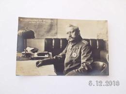 War 1914-18. Generalfeldmarschall Von Hindenburg. - Weltkrieg 1914-18