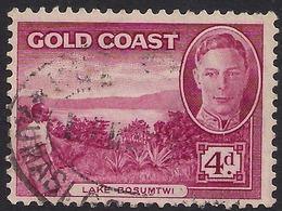 Gold Coast 1948 KGV1 4d Magenta SG 141 ( K1141 ) - Gold Coast (...-1957)