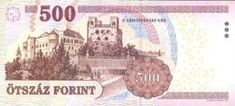 HUNGARY P. 196e 500 F 2013 UNC - Hongrie