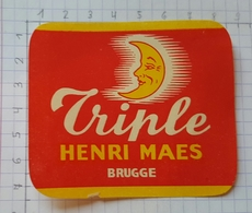 ETIQUETTE BROUWERIJ HENRI MAES BRUGGE TRIPLE - Beer