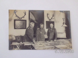 War 1914-18. Im Grossen Hauptquartier Im Januar 1917. - Weltkrieg 1914-18