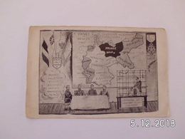 War 1914-18. Traite De Berlin 1916. - Weltkrieg 1914-18