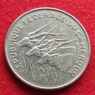 Cameroon  100  Francs 1972 Cameroun Camarões Equatorial African States Afrique Afrika Wºº - Cameroun