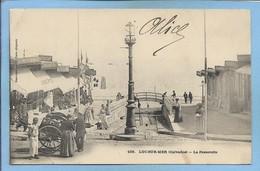 """Luc-sur-Mer 14 La Passerelle 2scans 1903 Dos Simple Charrette """"Jouets & Souvenirs Bazar Boulangerie Pitet Pâtisserie - Luc Sur Mer"""